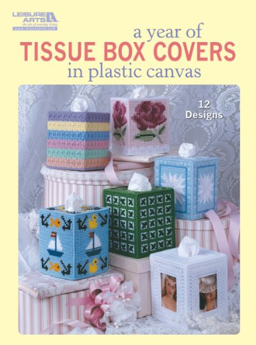 Leisure Arts A Year of Tissue Box Covers by LEISURE ARTS