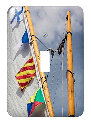 3dRose lsp_207545_1 Usa, Washington. Barcos en Bainbridge isla de barco de madera de transporte. - interruptor de palanca...