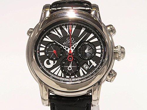 ジオモナコ GIO MONACO カリレオ ブラック文字盤 メンズ 腕時計 【中古】 B077RWBDV6