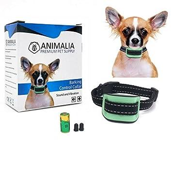 Collar Antiladridos Premium para Perros Pequeños y Medianos de Animalia - Collar de Adiestramiento Para Perros