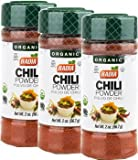 Badia Chili Powder Organic 2 oz -Pack of 3