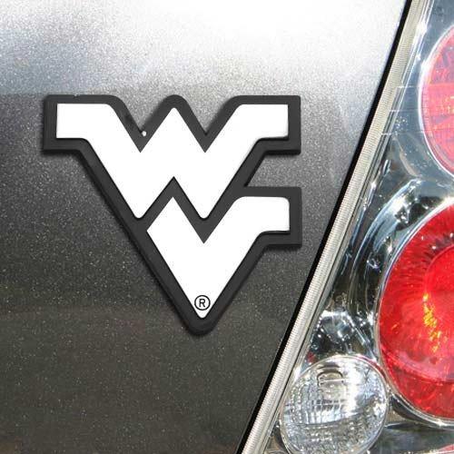 (NCAA West Virginia Mountaineers Premium Metal Auto Emblem)