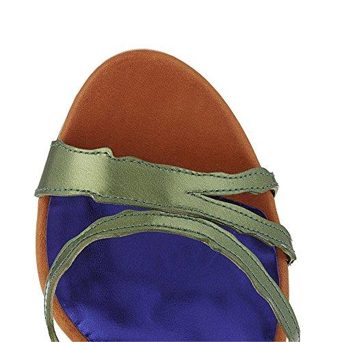 Caviglia 1 Punta 35 Strappy Vestito Taglia Stiletto Alto 42 Donna Scarpe Nvxie Blu Tacco Aperta Serata Festa Sandali Cinturino Cw8YSq