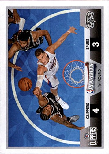 2015-16 Panini Stickers Basketball #437 Clippers v Spurs