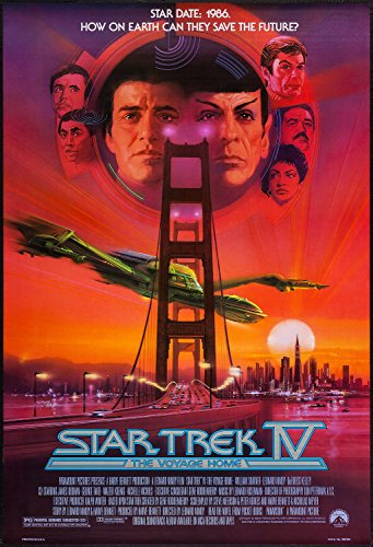 star trek iv the voyage home poster