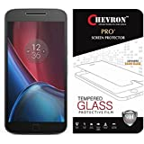 Chevron Ballistic Nano Tempered Glass Screen Protector Scratch Free Slim Guard For Motorola Moto G4 Plus (Gen 4) / 4th Generation