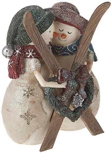 - Pavilion Gift Company Love You 4.5 Inch Double Snowman Figurine