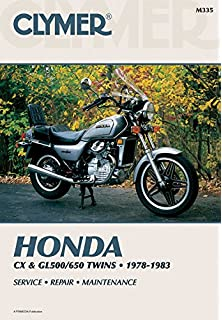 Step-by-Step Restoration Manual Rebuild How to restore Honda CX500 /& CX650