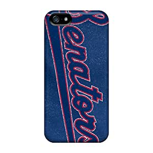 InesWeldon Iphone 5/5s Shock Absorption Hard Cell-phone Case Customized Realistic Washington Nationals Series [Hot13811JYzX]