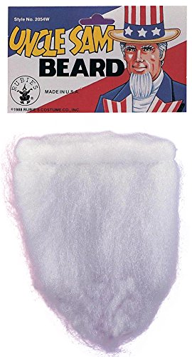 Costume-Accessory Uncle Sam Beard Halloween Costume Item - 1 size
