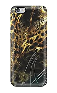 6 Plus Scratch-proof Protection Case Cover For Iphone/ Hot Animal Tiger Phone Case