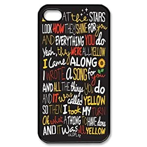 Personalized Coldplay Iphone 4,4S Case, Coldplay Customized Case for iPhone 4, iPhone 4s at Lzzcase