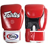 Fairtex Muay Thai-Style Sparring Glove,Red,14 Ounce