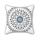 PILLO pillow covers of Bohemian 20 x 20 inches / 50 by 50 cm,best fit for bf,teens boys,play room,drawing room,son,shop double sides