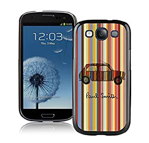 Lovely And Unique Designed Cover Case For Samsung Galaxy S3 I9300 With Paul Smith 17 Black Phone Case