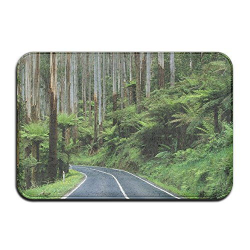 DDIAN Forest Australia Non Slip Mat, Kitchen, Toilet, Laundry, Bedroom Or Pet Mat. (Outdoor Australia Vinyl Flooring)