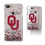 Keyscaper NCAA Oklahoma Sooners KCLR7X-0OKC-FETTI1 Apple iPhone Clear Case, iPhone 8 Plus/7 Plus/6 Plus, Clear