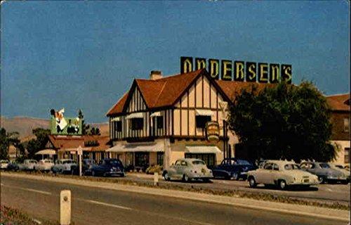 Andersen's Pea Soup Restaurant Buellton, California Original Vintage Postcard