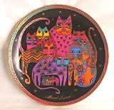 Franklin Mint Royal Doulton plate Fabulous Felines by Laurel Burch