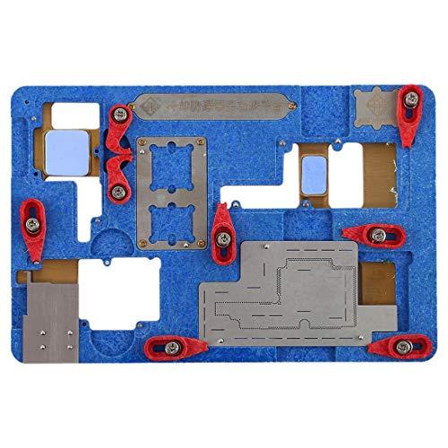 JINYANG Platform Multifunction Cooling Explosion-Proof tin Phone Motherboard Repairing Fixing Holder for iPhone X