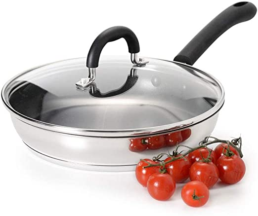 ProCook Stainless Steel Barbecue Vegetable Basket 28cm