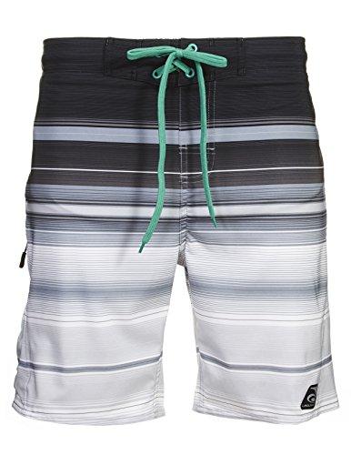 Grey Swim Trunks - Laguna Men's Endless Summer Stretch Swim Trunk, Grey, M