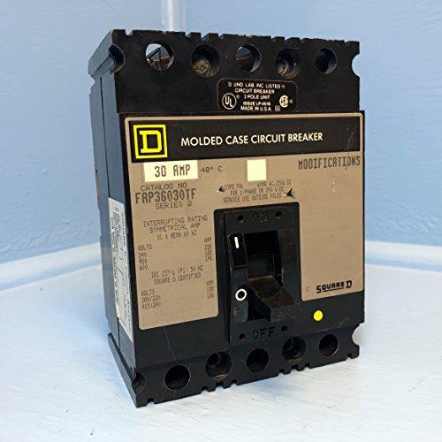 - Square D FAP36030TF 30A Circuit Breaker 480/600V 3 Pole S2 Type FAL S2 30 Amp