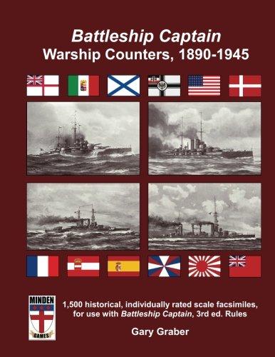 Best buy Battleship Captain Warship Counters, 1890-1945