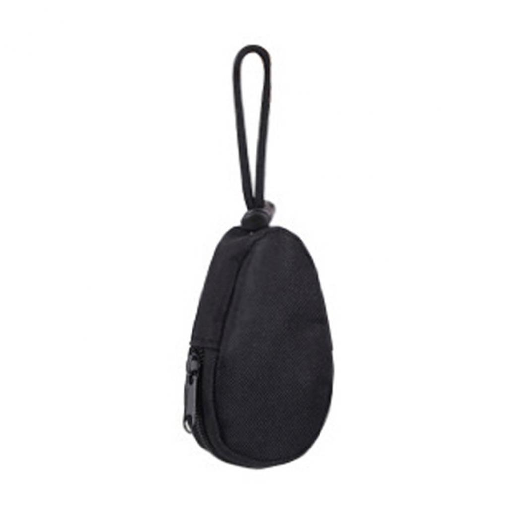 Colorido Unisex Waterproof Portable Mini Army Fan Key Bag Keychains Case Pouch size Medium (Black)