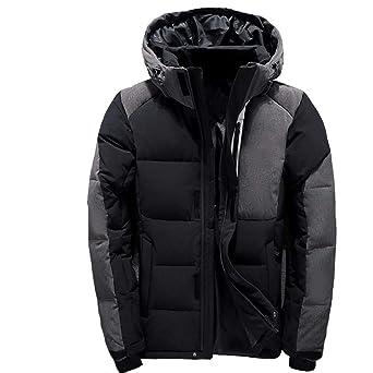 MAZF Men Down Jacket Chaqueta Plumas Hombre invierno Men Down Coat at Amazon Mens Clothing store: