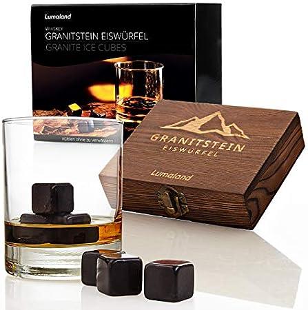 Piedras de whisky de alta calidad de Lumaland, que mejoran el disfrute del whisky con un elemento no