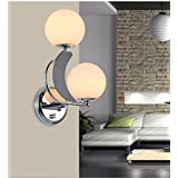 ZQ@QX Simple Traditional decorative wall lamp bedroom bedside hotel coffee shop Wall lamp Living room Wall lamp dimmer switch hotel rooms Wall lamp , left