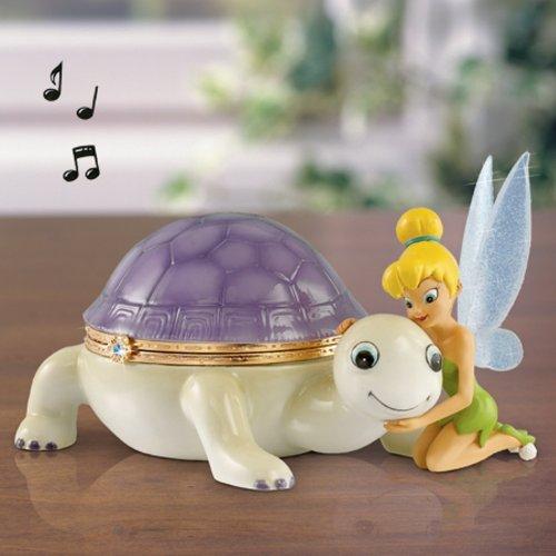 UPC 701076460025, Tinker Bell's Forever Turtle Friend Heirloom Porcelain Limoges-Style Magical Friendship Music Box