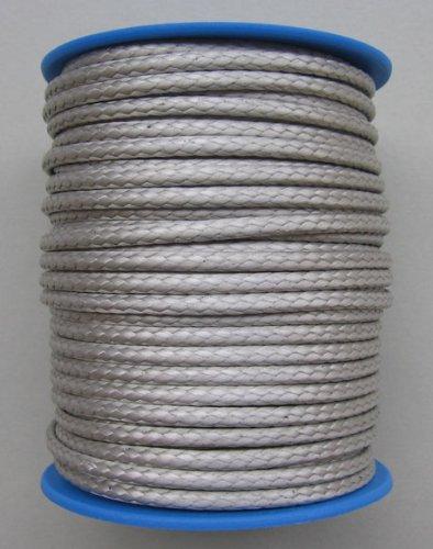 Dyneema vimini lenza diametro 2, 5 mm - 25 Meter federa grigio Gepotex