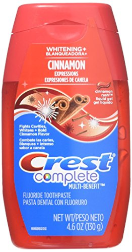 CREST COMPLETE LIQ GEL WHT+CIN Size: 4.6 (Anticavity Whitening Fluoride Liquid Gel)