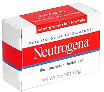 Jabon Neutrogena Para Acne - Set De 8 Barras De Jabon Neutrogena Para Limpieza Facial Para