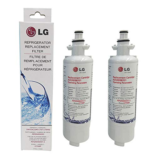 LG LT700P water filter 2 Pack white