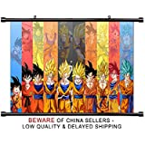 Dragon Ball Super Anime Fabric Wall Scroll Poster (32 x 18) Inches