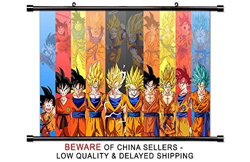 Dragon Ball Super Anime Fabric Wall Scroll Poster  Inches