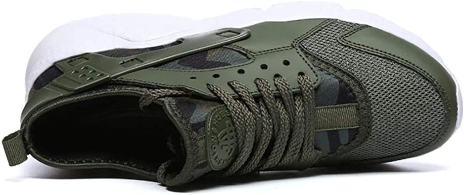 Zapatos de Hombre con Poca luz para Ayudar a los Zapatos para Correr Mallas Transpirables Zapatos Deportivos Deportivos de Vuelo Casual Verde Militar para Hombres 45: Amazon.es: Zapatos y complementos