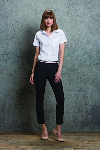 Corporate Chemise Shirt KIT Blanc 14 wte KUSTOM Oxford Pocket Kk719 Femme Wte X6qcS5