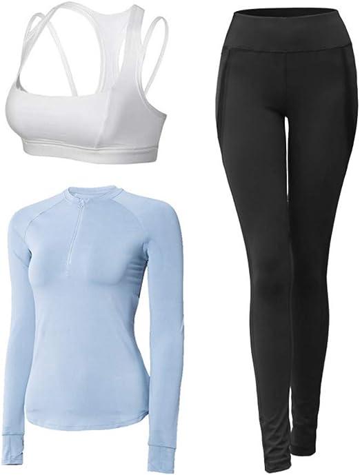 Sports Jacket Women Tight Running Fitness Quick Dry T Shirt Longsleeve Yoga S ZF