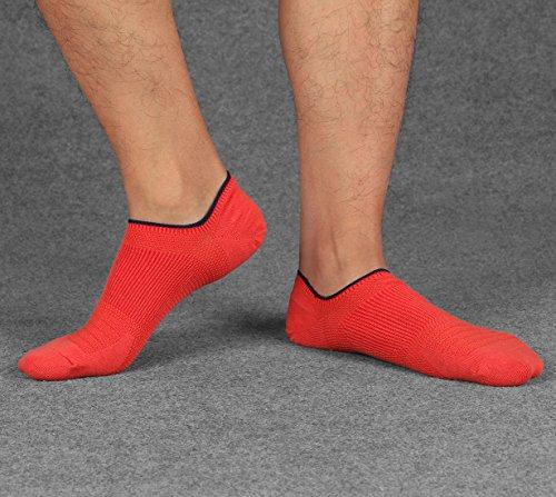 Colorful Cut Low WEILAI Fashion Casual No Design Show 5 Men's C13 Cotton SOCKS Socks Pack Zww1q8AWR