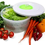 Best Salad Spinners - K Basix Large Salad Spinner 4.5 L – Review
