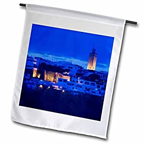 Danita Delimont - Morocco - MOROCCO, Rabat: Kasbah des Oudaias, Oued Bou Regreg-AF29 WBI0125 - Walter Bibikow - 18 x 27 inch Garden Flag (fl_73640_2)