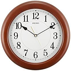 SEIKO CLOCK ( Seiko clock ) wall clock quartz crate tea KX603A