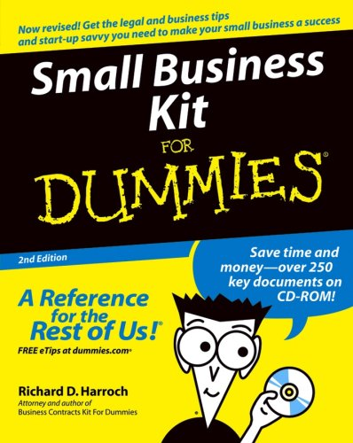 Read Online Small Business Kit For Dummies ebook