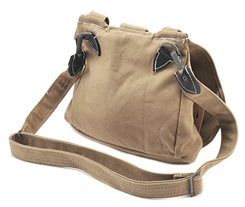 German Bag - Ultimate Arms Gear German WW2 M31 Brotbeutel 31 Bread Bag with Shoulder Carry Strap, New Reproduction