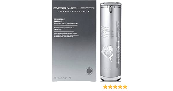 Dermelect - Resilient Stem Cell Regenerating Treatment - 28.4g/1oz Premium 100% Pure Organic Moroccan Rose Water - 4oz With Sprayer - Imported From Morocco - (Also Edible) Rich in Vitamin A and C, it is Packed With Natural Antioxidants and Anti-Inflammatory Qualities