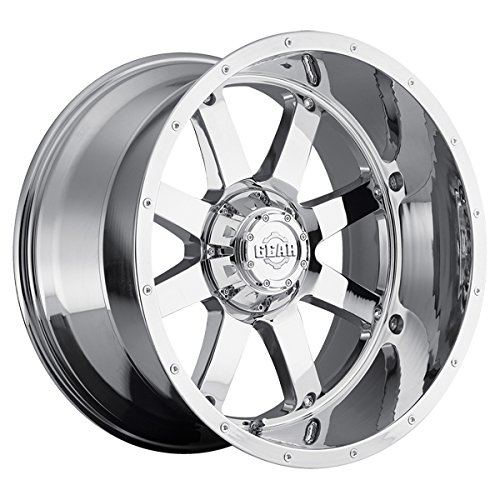 Gear Alloy 726C BIG BLOCK Wheel with Chrome Finish (20x12''/8x6.5'', -44mm Offset)